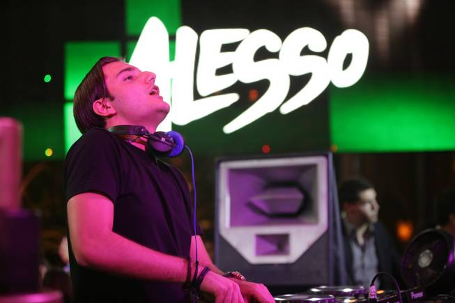 Alesso's 21st birthday celebration at XS on Monday, July 9, ...