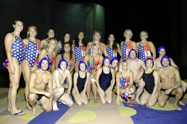 The USA Women's Olympic Water Polo Team and