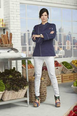 "Carla Pellegrino on Season 10 of Bravo's ""Top Chef."""