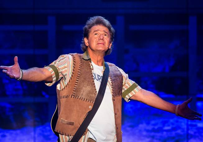"Adrian Zmed as Nick in ""Surf the Musical"" at Planet Hollywood."