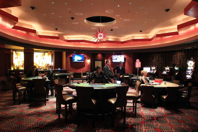 This is the remodeled high limit room at the Hard Rock Wednesday, July 11, 2012.