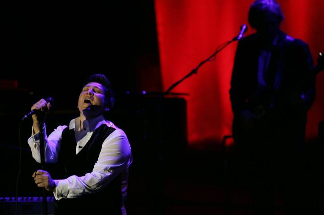"Singer K.D. Lang performs at the Elton John AIDS Foundation's sixth annual benefit ""An Enduring Vision"" at The Waldorf-Astoria Hotel, Tuesday, Sept. 25, 2007 in New York."