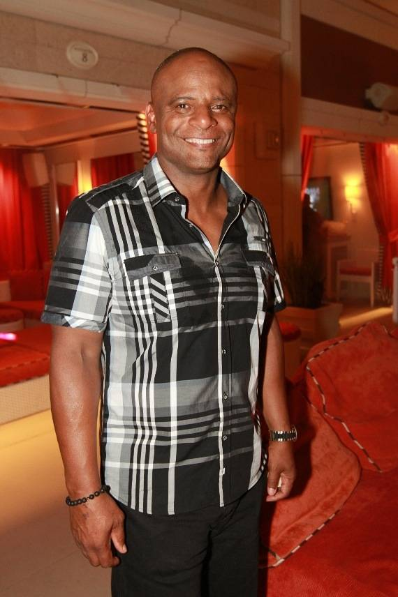 Warren Moon at Surrender Nightclub in the Encore on Wednesday, July 11, 2012.