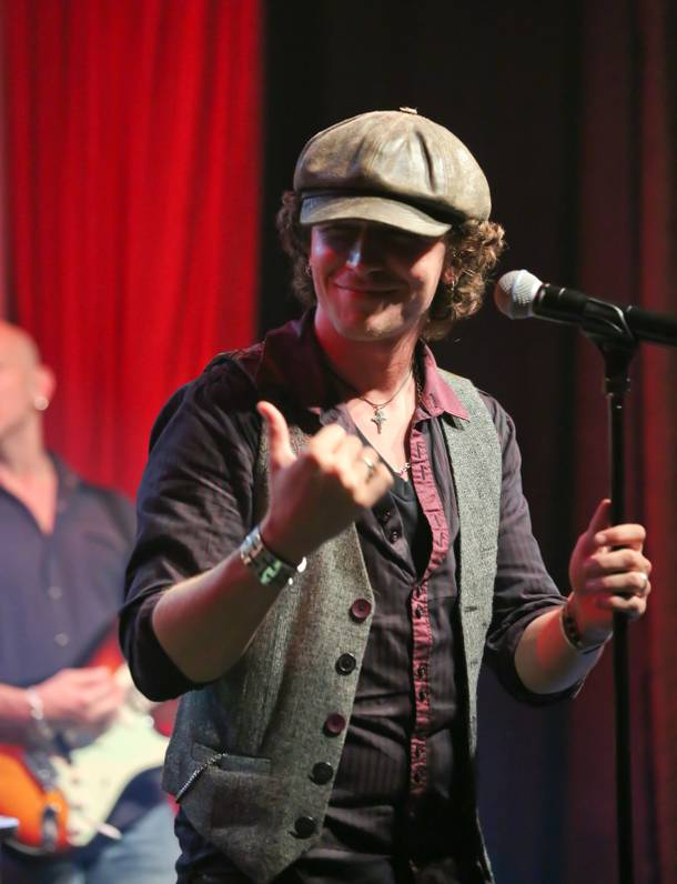 Michael Grimm performs with Stifler in the Lounge at the Palms on Saturday, July 14, 2012.