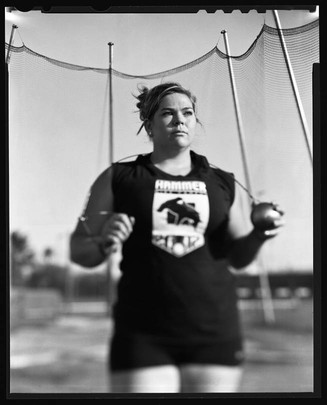 UNLV's Amanda Bingson is going to the London Olympics after finishing second in the hammer throw at the U.S. Olympic Trials.