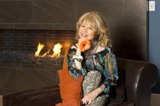 Pia Zadora in her home, July 19, 2012.