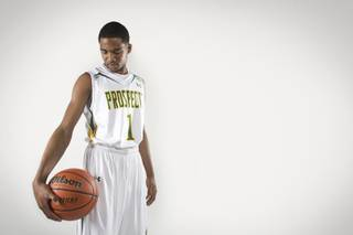 Darryl Gaynor, a rising junior guard at Palo Verde High School and one of Southern Nevada's top high school basketball prospects, July 24, 2012.