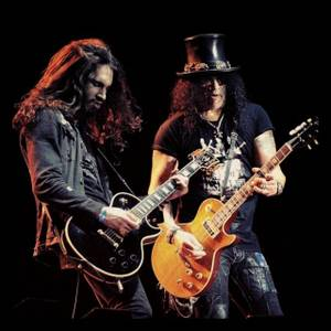 Frankie Sidoris and Slash.