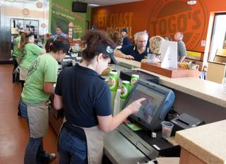 California-based sandwich shop Togo's plans to open 10 to 15 new locations in Las Vegas starting next year.