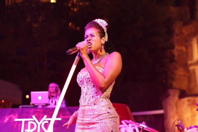 Kelis hosts and performs at Tryst on Friday, July 27, ...