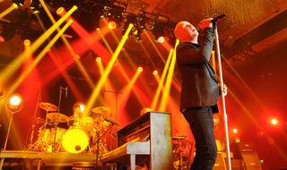 The Fray performs at Chelsea Ballroom in the Cosmopolitan of Las Vegas on Friday, July 27, 2012.