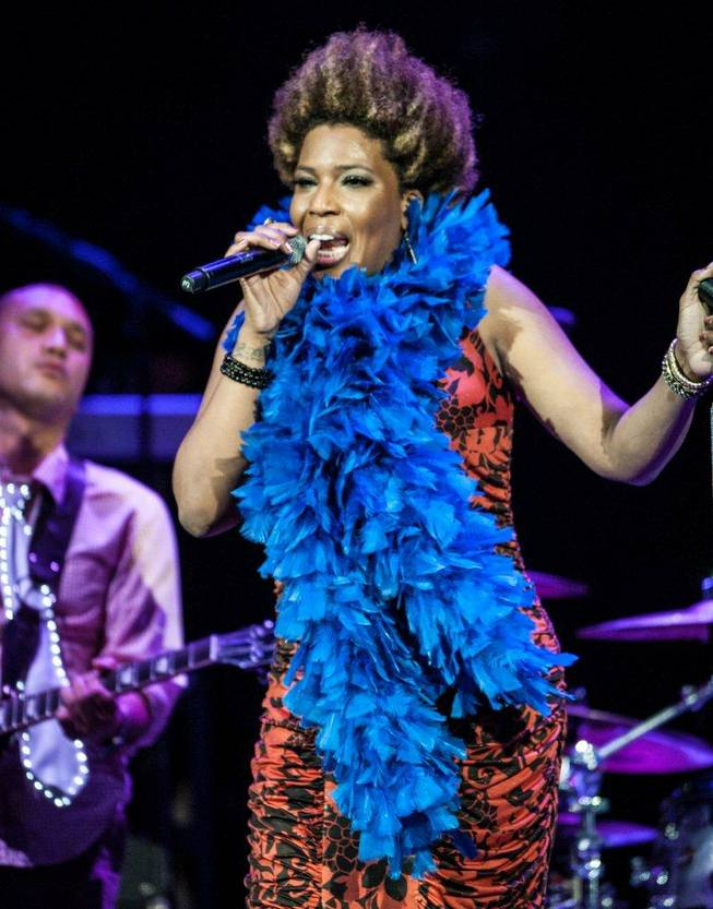 Macy Gray performs in the Pearl at the Palms on Saturday, Aug. 4, 2012.