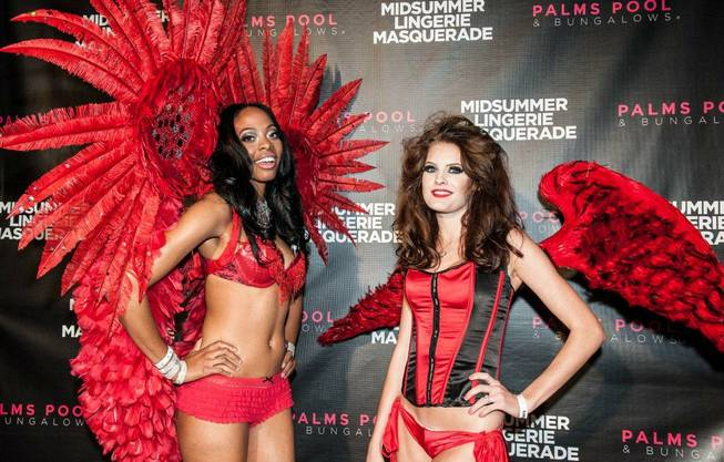The 2012 Midsummer Lingerie Masquerade at the Palms on Saturday, ...