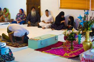 The Guru Nanak Gurdwara opened it's doors to the public, Thursday, Aug. 9, 2012, in memory of those killed in the Aug. 5th 2012, shooting at a Sikh temple in Wisconson.