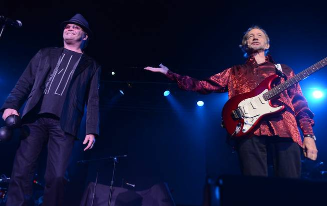 Micky Dolenz and Peter Tork of The Monkees at Green ...