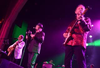 Michael Nesmith, Micky Dolenz and Peter Tork of The Monkees at Green Valley Ranch in Henderson on Saturday, Aug. 10, 2013.