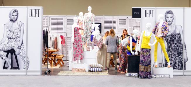 The PROJECT show in the Mandalay Bay Convention Center on Monday, August 20, 2012. PROJECT is part of the fashion trade show MAGIC.
