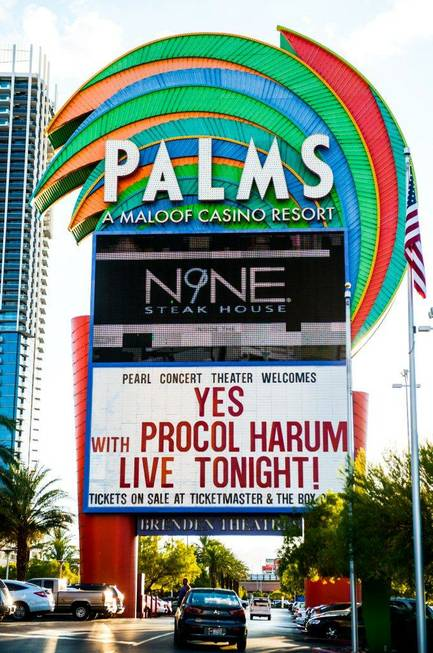 Yes and Procol Harum in the Pearl at the Palms ...