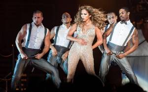 Jennifer Lopez performs at Mandalay Bay Events Center on Saturday, Aug. 18, 2012.