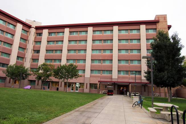 The Tonopah Complex dorm hall on the campus of UNLV in Las Vegas on Wednesday, August 22, 2012.