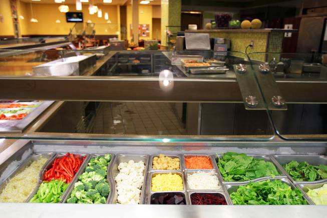 The dining commons on the campus of UNLV in Las Vegas on Wednesday, August 22, 2012.
