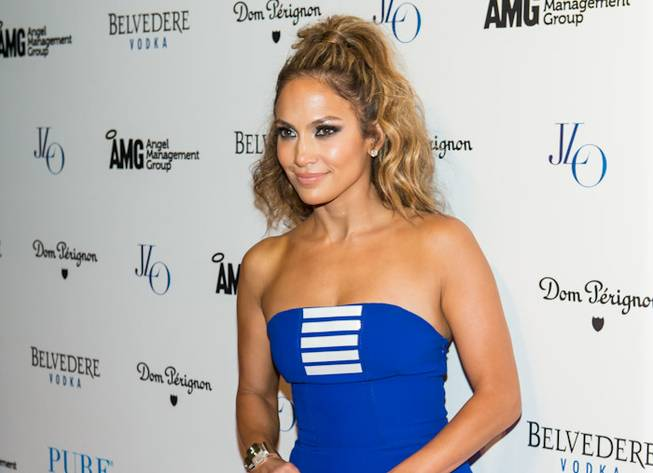 Jennifer Lopez at Pure in Caesars Palace on Saturday, Aug. ...