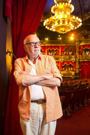 "Hal Prince, director of ""Phantom -- the Las Vegas Spectacular"" at the Venetian, on Tuesday, Aug. 14, 2012."