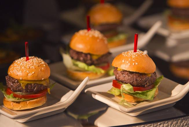 Sliders are displayed during a media preview of Bacchanal Buffet ...
