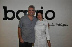 Taylor Hicks and Carla Pellegrino.