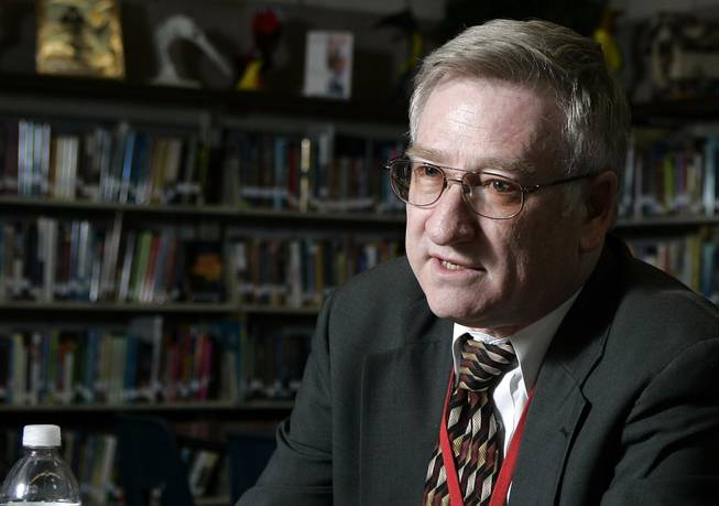 Eddie Goldman is the Clark County School District's chief negotiator and a 32-year veteran educator.