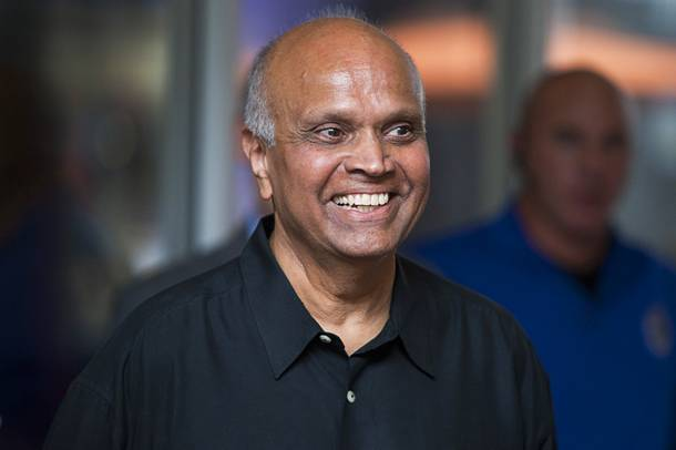 Neonopolis' Rohit Joshi during the opening of the ShoeZeum in downtown Las Vegas, Thursday, August 30, 2012. His investment group, Wirrulla Hayward, paid $25 million for the 250,000-square-foot mall in 2006.