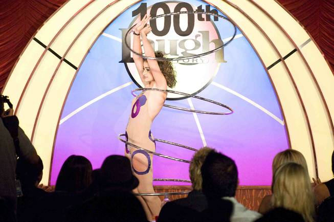 Murray Sawchuck's 100th show at the Tropicana on Monday, Sept. ...