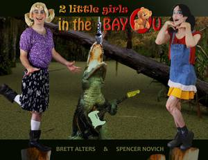 "An poster used to promote ""Two Little Girls in the Bayou"" on Kickstarter, Facebook and other social media."
