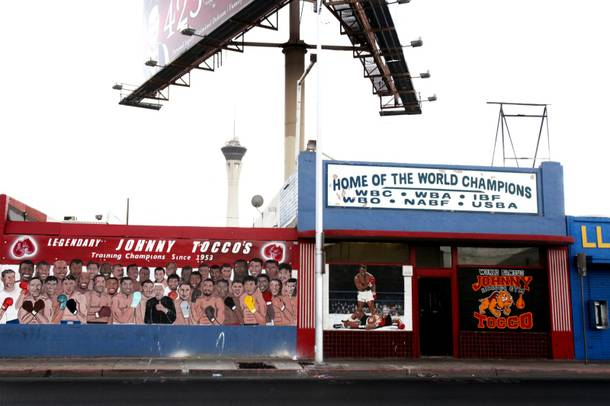 Johnny Tocco's Boxing Gym in downtown Las Vegas on Wednesday, September 5, 2012.