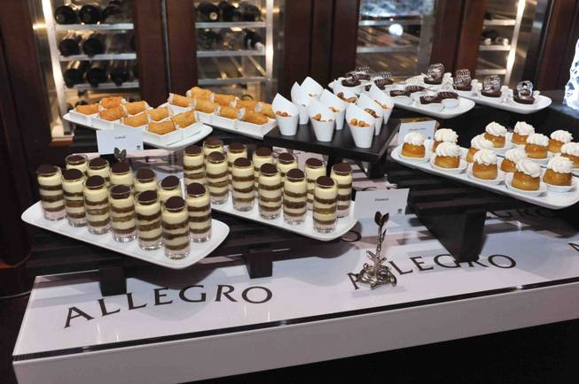 The VIP grand opening of chef Enzo Febbraro's Allegro at ...