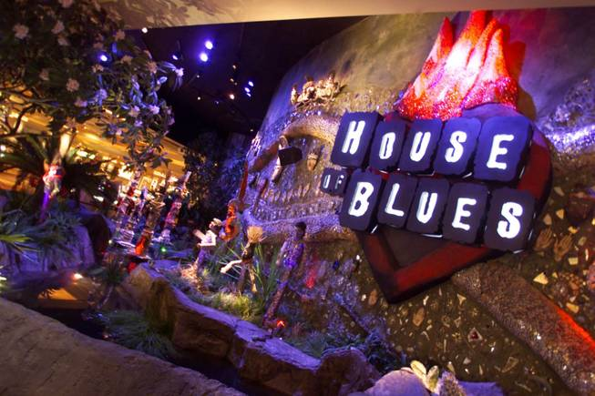 House of Blues inside Mandalay Bay.