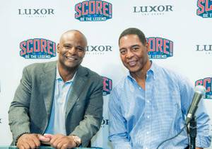 'Score! Be the Legend' With Marcus Allen, Warren Moon at Luxor