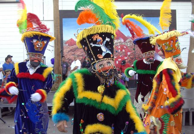 Dancers at the 2011 Fiesta Las Vegas Latino Parade and Festival in downtown Las Vegas.