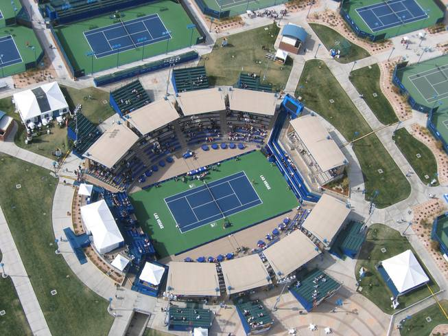 The Amanda and Stacy Darling Memorial Tennis Center with 23 tennis courts including one main court with stadium seating for approximately 2,800 spectators, is part of the Charlie Kellogg and Joe Zaher Sports Complex.