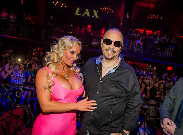 Ice-T and Coco host and party at LAX in the Luxor on Saturday, Sept. 1, 2012.