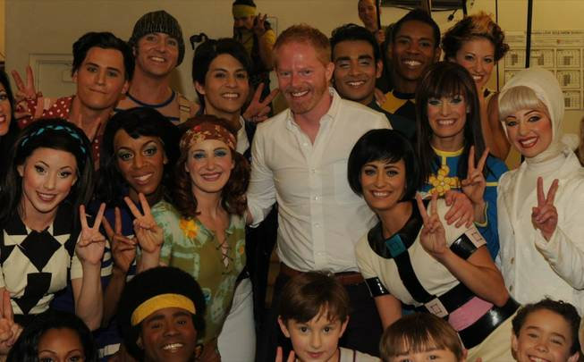 "Jesse Tyler Ferguson at ""Love"" in the Mirage."