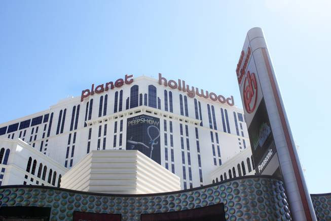 Planet Hollywood as seen on Thursday, Sept. 13, 2012.