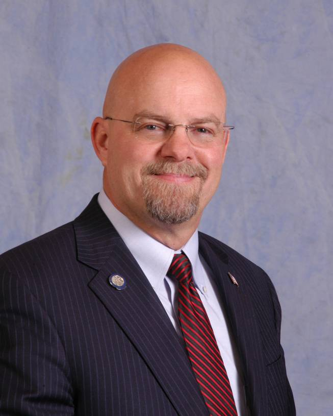 Assemblyman Ira Hansen of the 77th (2013) Nevada Assembly District.