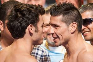 Weigh-In: Julio Cesar Chavez Jr. vs. Sergio Martinez at the Wynn