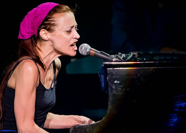Fiona Apple at the Joint in the Hard Rock Hotel ...