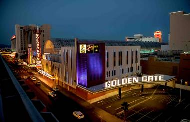 The Golden Gate in downtown Las Vegas.
