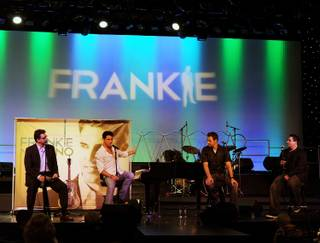 Frankie Moreno's CD release party and show at the Stratosphere on Wednesday, Sept. 19, 2012.