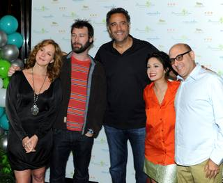 Brad Garrett's annual Maximum Hope Foundation Charity Poker Tournament at MGM Grand on Saturday, Sept. 22, 2012.