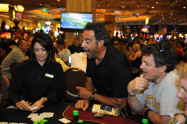 It was an all-star turnout for comedian Brad Garrett's poker tournament at MGM Grand, and by the end of play, he had surpassed $100,000, broken ...