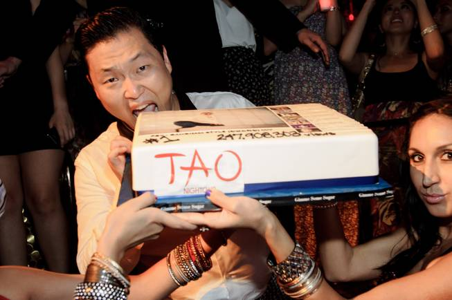 South Korean rapper Psy brings his